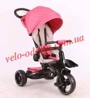 Детский велосипед-коляска Кроссер Crosser T- 600 розовый