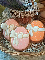 Пасхальный пряник яйцо с бантом (пряники в подарок к Пасхе)
