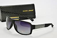 Солнцезащитные очки прямоугольные Marc John черные
