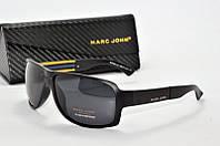 Солнцезащитные очки прямоугольные Marc John черные, фото 1