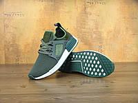 Женские кроссовки в стиле Adidas NMD XR1 оливковый, фото 1