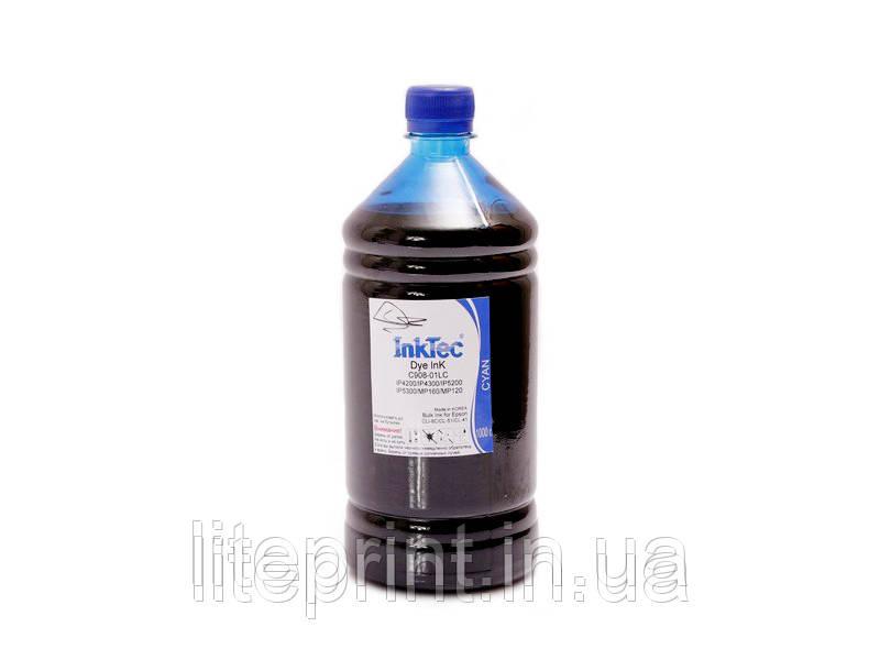 Чернила для принтера Canon - InkTec - C908, Cyan, 1000 г