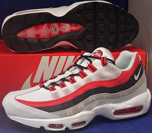 Мужские кроссовки Nike Air Max 95 Essential University Red, фото 2