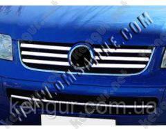 Хром накладки на решетку Volkswagen Transporter T5
