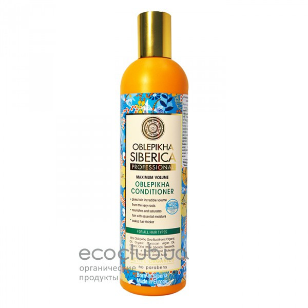 Бальзам облепиховый для всех типов волос Oblepikha Siberica Professional 400мл