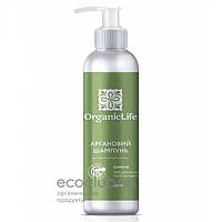 Шампунь для волос аргановый Укрепляющий Organic Life 250мл