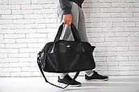 Спортивная сумка пума (puma), черная из искусственной кожи (реплика)
