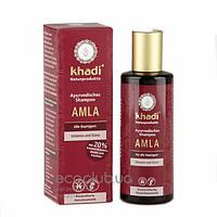 Шампунь аюрведический для всех типов волос 2 в 1 Amla Khadi