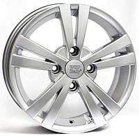 WSP-Italy W3602 Tristano silver (R14 W5.5 PCD4x100 ET44 DIA56.6)