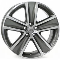 WSP-Italy W463 Cross anthracite polished (R16 W7 PCD5x100 ET46 DIA57.1)