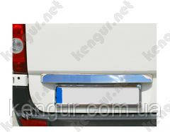Хром накладка над номером Volkswagen Transporter T5