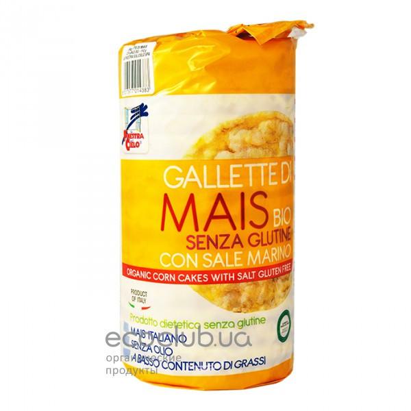 Коржи кукурузные органические с солью La Finestra sul Cielo 110г