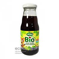 Напиток яблочный с черникой и черноплодной рябиной Bio органический стерилизованный Ovko 200мл