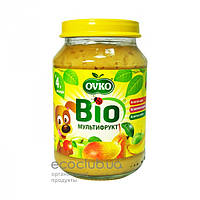 Пюре фруктовое Bio органическое Мультифрукт Ovko 190г