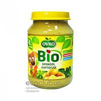 Пюре овощное Bio органическое Брокколи и картофель Ovko 190г