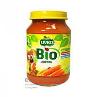 Пюре овощное Bio органическое Морковь Ovko 190г