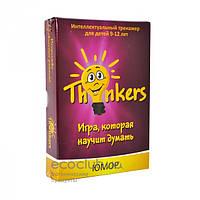 Игра для детей интеллектуальный тренажер Thinkers Юмор