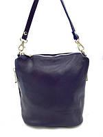 Женская сумка Laura Biaggi (2301 dark blue) leather