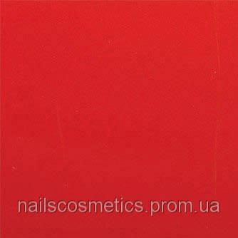 Красная Фольга матовая