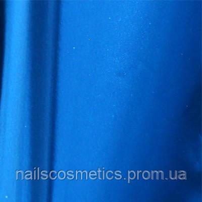 Синяя Фольга глянцевая