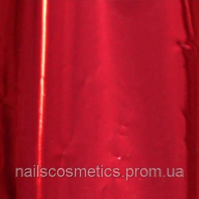 Красная Фольга глянцевая