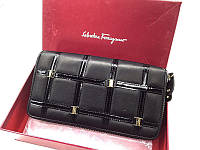 Женский кошелек Salvatore Ferragamo (F-2502) black