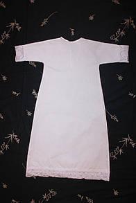 """Крестильная рубашка """"Элит"""" удлиненная"""