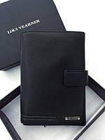Мужской бумажник Loui Vearner (4201) black