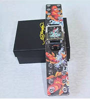 Стильные часы Ed Hardy (Рыбки)