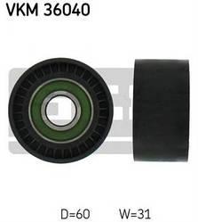 Ролик ручейкового ремня на Renault Trafic  2003-> 2,5dCi  — SKF (Швеция) - VKM 36040