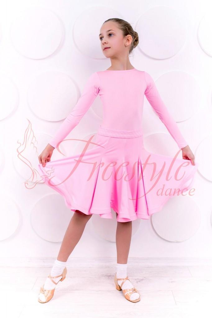 38714d198ba Рейтинговое Платье для Бальных Танцев (бейсик)