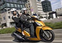 Занятие на скутере