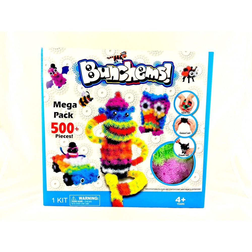 Bunchems конструктор для детей на 500 деталей