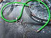 Вело-кулон на шнуре (цвета и текстуры в ассортименте) - подарок велосипедисту Подвеска Велосипед