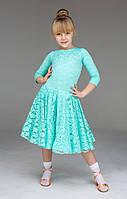 Рейтинговое платье для бальных танцев (бейсик) 836 р. 30 - р. 36, фото 1