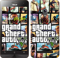 "Чехол на Asus Zenfone 5 GTA 5. Collage ""630c-81"""