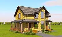 Лучшее предложение Шикарный дом из сруба 144м2, с участком