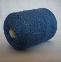 Сине-голубой меланж Kashan 70%меринос, 20%кашемир, 10%шелк