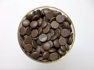"""Черный бельгийский шоколад 60 % в дисках ТМ """"Herco Foods"""""""