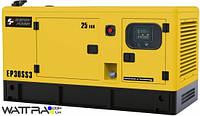Электростанция дизельная Energy Power EP 30SS3 (25ква) 3Ф