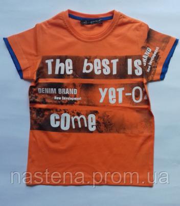 Турецкая летняя футболка для мальчиков CEGISA от 5 до 8 лет.