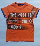 Турецкая летняя футболка для мальчиков CEGISA от 5 до 8 лет., фото 1