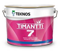 ТИМАНТТИ 7 Специальная водоразбавляемая матовая акрилатная краска для стен и потолков в помещениях