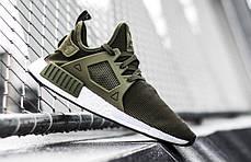 Женские кроссовки Adidas NMD XR1 Olive топ реплика, фото 2