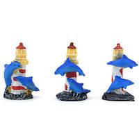 Дельфинчики на маяке 6см(6)