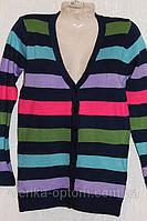 Женская кофта полоска на пуговицах, фото 1