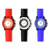 Часы наручные мужские резиновый браслет