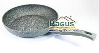 Сковорода алюминиевая 26x5,2см со съемной ручкой Fissman Rock Stone (AL-4364.26)