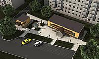 Проектирование объектов архитектуры: жилых и общественныхи зданий и сооружений, промышленных пр-ий