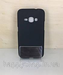 Силиконовый чехол для Samsung Galaxy J1 2016 (J120) (Черный)